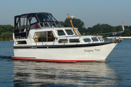 Proficiat Myboat 1010 AK, Motorjacht Proficiat Myboat 1010 AK te koop bij Jachtbemiddeling van der Veen - Terherne