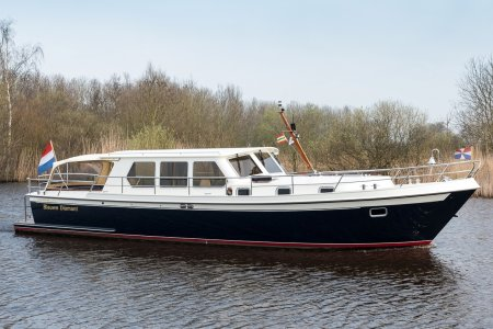 Pikmeer kruiser 1350 OK Royal Exclusive, Motorjacht Pikmeer kruiser 1350 OK Royal Exclusive te koop bij Jachtbemiddeling van der Veen - Terherne