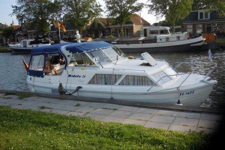 Nidelv 26, Motorjacht Nidelv 26 te koop bij Jachtbemiddeling van der Veen - Terherne