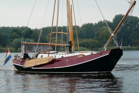 Zeeschouw De Groot, Motorjacht Zeeschouw De Groot te koop bij Jachtbemiddeling van der Veen - Terherne