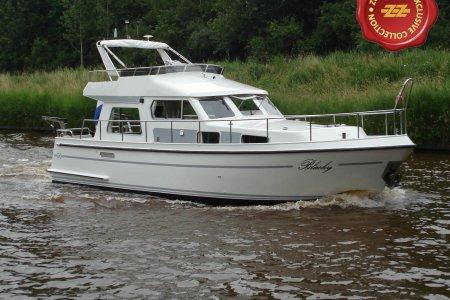 Zuiderzee Expresse 36 OK/FB, Motorjacht Zuiderzee Expresse 36 OK/FB te koop bij Jachtbemiddeling van der Veen - Terherne