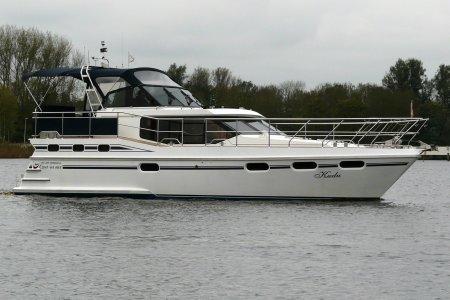 Vri-Jon Contessa 40 EX, Motorjacht Vri-Jon Contessa 40 EX te koop bij Jachtbemiddeling van der Veen - Terherne