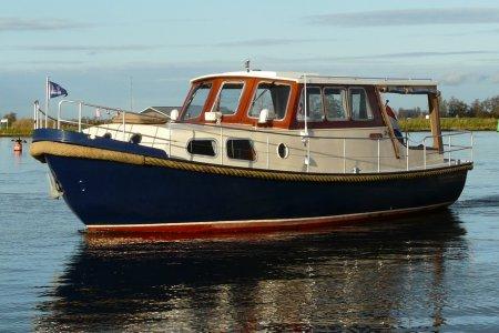 Waalvlet 960 OK, Motorjacht Waalvlet 960 OK te koop bij Jachtbemiddeling van der Veen - Terherne
