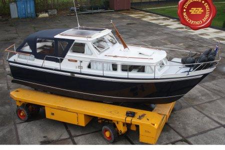 Boornkruiser 920 OK/AK, Motorjacht Boornkruiser 920 OK/AK te koop bij Jachtbemiddeling van der Veen - Terherne