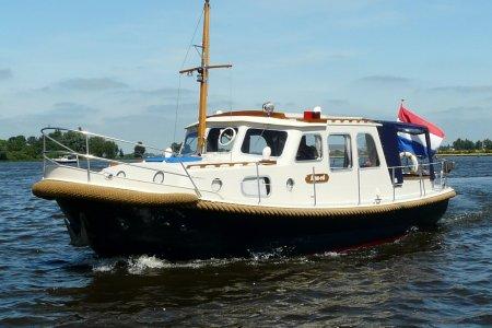 Boarnstream Vlet 900 OK, Motorjacht Boarnstream Vlet 900 OK te koop bij Jachtbemiddeling van der Veen - Terherne