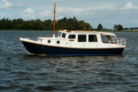 Klavervier Vlet 970 OK, Motorjacht Klavervier Vlet 970 OK te koop bij Jachtbemiddeling van der Veen - Terherne