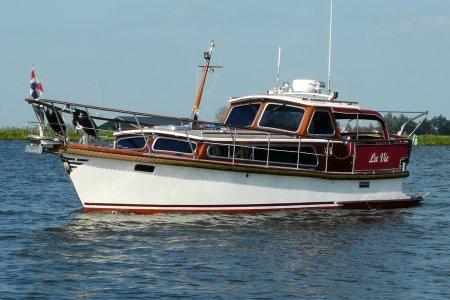 Klavervier 860 OK, Motorjacht Klavervier 860 OK te koop bij Jachtbemiddeling van der Veen - Terherne