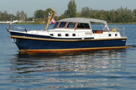 Crown River Holiday Cabrio 1300, Motor Yacht Crown River Holiday Cabrio 1300 for sale at Jachtbemiddeling van der Veen - Terherne