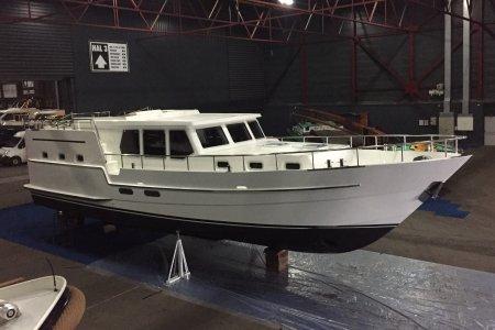 Treffer 1400 AK, Motor Yacht Treffer 1400 AK for sale at Jachtbemiddeling van der Veen - Terherne