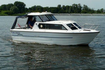 Mayland 740 OK, Motorjacht Mayland 740 OK te koop bij Jachtbemiddeling van der Veen - Terherne