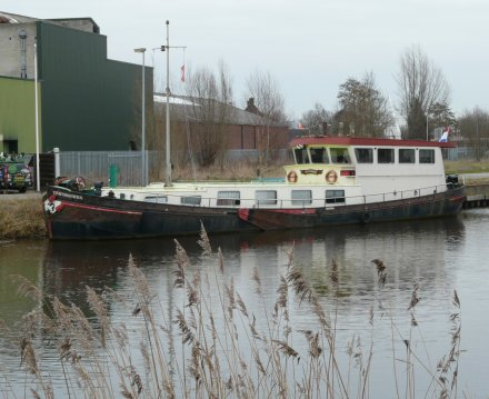 Steilsteven 22 Meter, Sailing houseboat for sale by Jachtbemiddeling van der Veen