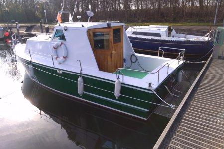 Zwemer 8.40, Motorjacht Zwemer 8.40 te koop bij Jachtbemiddeling van der Veen - Terherne