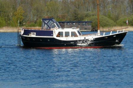 Jacson Spitsgatkotter 1250, Motorjacht Jacson Spitsgatkotter 1250 te koop bij Jachtbemiddeling van der Veen - Terherne
