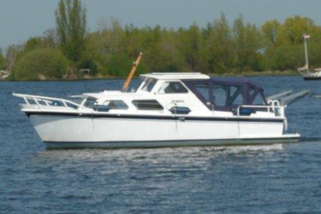 Poiesz Kruiser 850 OK, Motorjacht Poiesz Kruiser 850 OK te koop bij Jachtbemiddeling van der Veen - Terherne