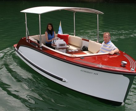 Alfastreet Marine 18 Open Electric, Sloep for sale by Jachtbemiddeling van der Veen
