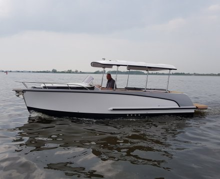 Alfastreet Marine 23 Cabin Electric, Sloep for sale by Jachtbemiddeling van der Veen