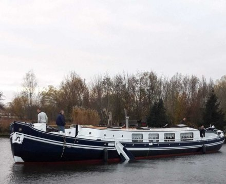 Steilsteven 23 Meter, Sailing houseboat for sale by Jachtbemiddeling van der Veen