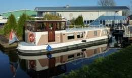 Friese Kanaal Boot 1400, Motor Yacht Friese Kanaal Boot 1400 for sale by Jachtbemiddeling van der Veen - Terherne