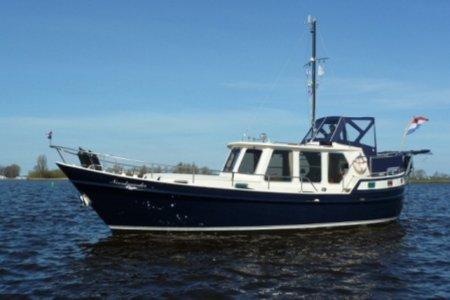Wierda Kotter 1150, Motorjacht Wierda Kotter 1150 te koop bij Jachtbemiddeling van der Veen - Terherne