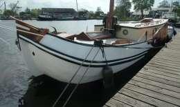 Skutsje Barkmeijer, Motor Yacht Skutsje Barkmeijer for sale by Jachtbemiddeling van der Veen - Terherne