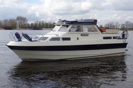 Wiking 28, Motorjacht Wiking 28 te koop bij Jachtbemiddeling van der Veen - Terherne