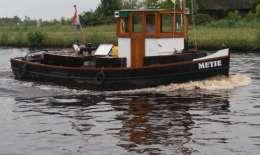 Sleepboot Monumentaal, Motor Yacht Sleepboot Monumentaal for sale by Jachtbemiddeling van der Veen - Terherne
