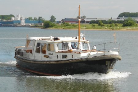Valkvlet 1190 OK AK, Motoryacht Valkvlet 1190 OK AK zum Verkauf bei Jachtbemiddeling van der Veen - Terherne
