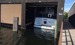 Schiphuis Vinkeveen, Houseboat Schiphuis Vinkeveen for sale by Jachtbemiddeling van der Veen - Terherne