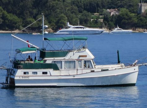 AMERICAN MARINE Grand Banks 42 Motoryacht, Bateau à moteur  for sale by NAUTIS