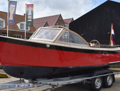 Menken Fast CAB + Trailer, Schlup  for sale by Jachtmakelaardij Lemmer Nautic