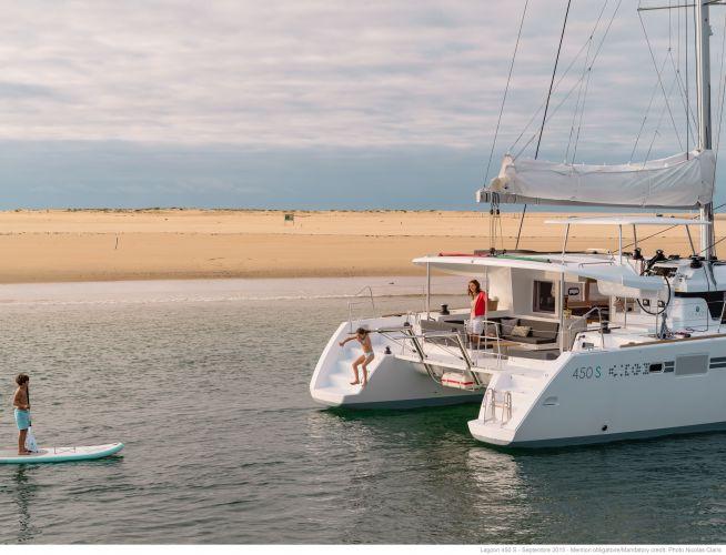 Lagoon 450 S, Multihull zeilboot  for sale by Nautisch Kwartier Stavoren