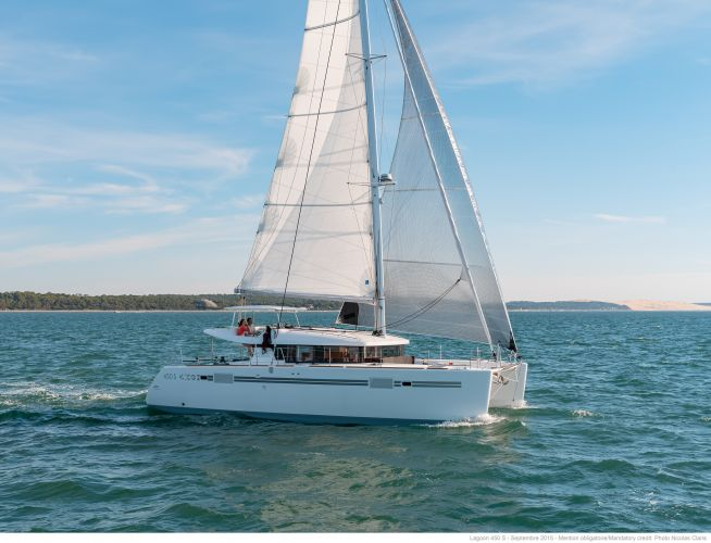 Lagoon 450 S, Multihull zeilboot  for sale by Nautisch Kwartier Stavoren