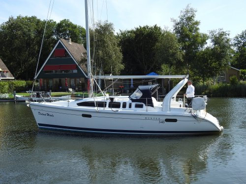 Hunter 340, Zeiljacht  for sale by Nautisch Kwartier Stavoren