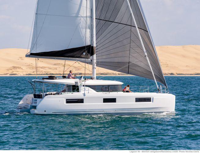 Lagoon 46 Verkocht/sold, Multihull zeilboot  for sale by Nautisch Kwartier Stavoren