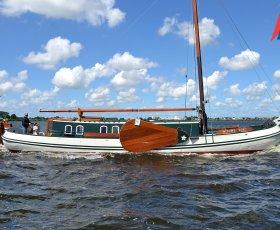 Tjalk Nieuwe Zorg, Klassiek/traditioneel motorjacht Tjalk Nieuwe Zorg te koop bij Kempers Watersport