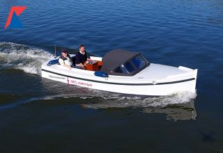 Notarisboot 620 Open Elektrisch, Sloep  for sale by Kempers Watersport