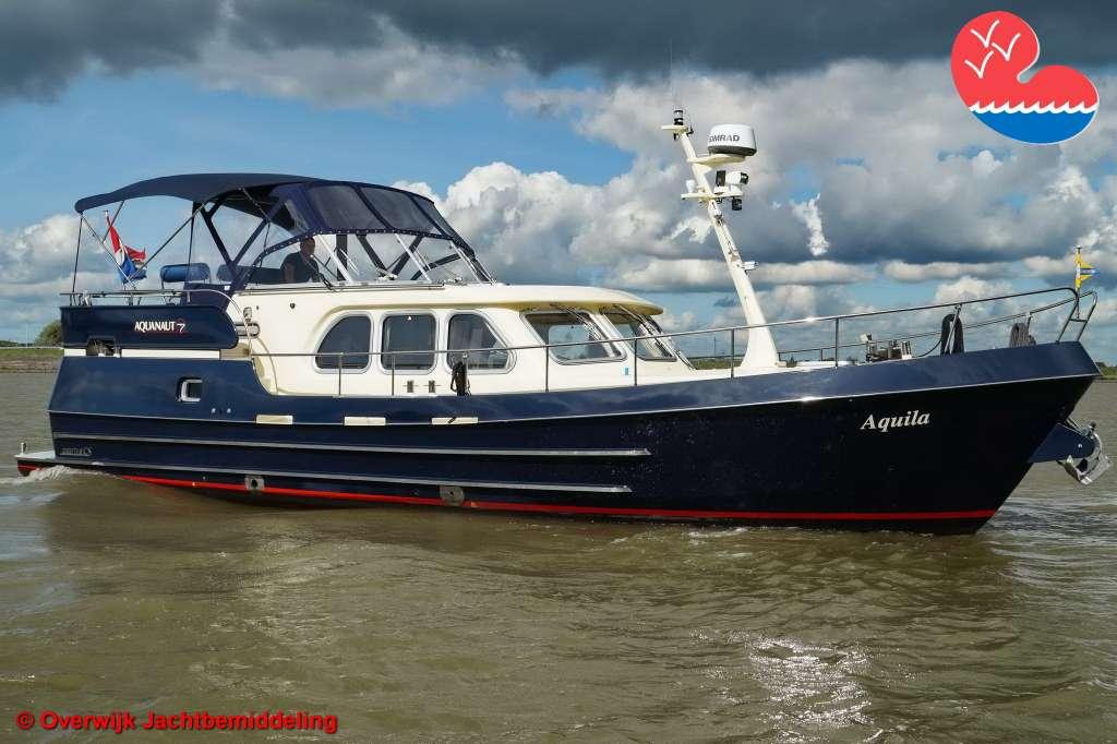 Motorjacht, Aquanaut Drifter 1300 CS AK, in bemiddeling bij Overwijk Jachtbemiddeling