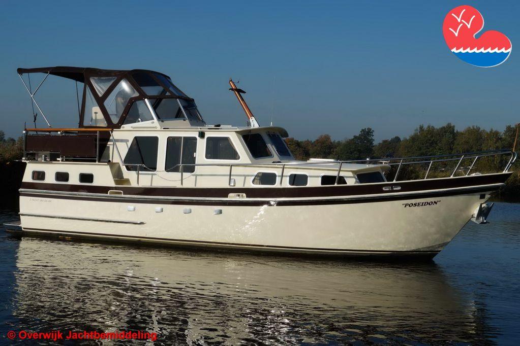 Motorjacht, Z-Yacht 980 GSAK, in bemiddeling bij Overwijk Jachtbemiddeling