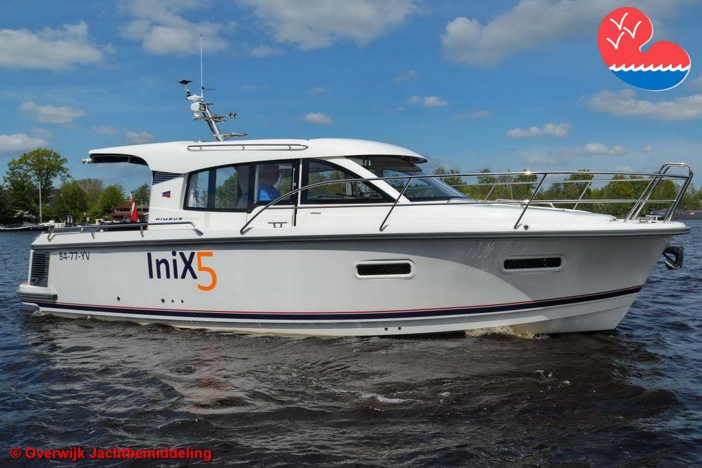 Motorjacht,Nimbus 305 Coupe, in bemiddeling bijOverwijk Jachtbemiddeling