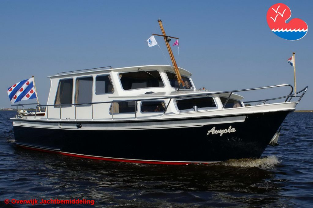 Motorjacht,Pikmeer 950 OK, in bemiddeling bijOverwijk Jachtbemiddeling