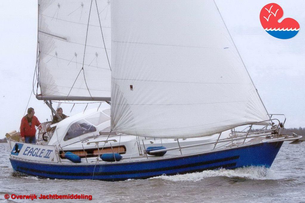 Zeiljacht, Domp Zeilkruiser DK 34, in bemiddeling bij Overwijk Jachtbemiddeling