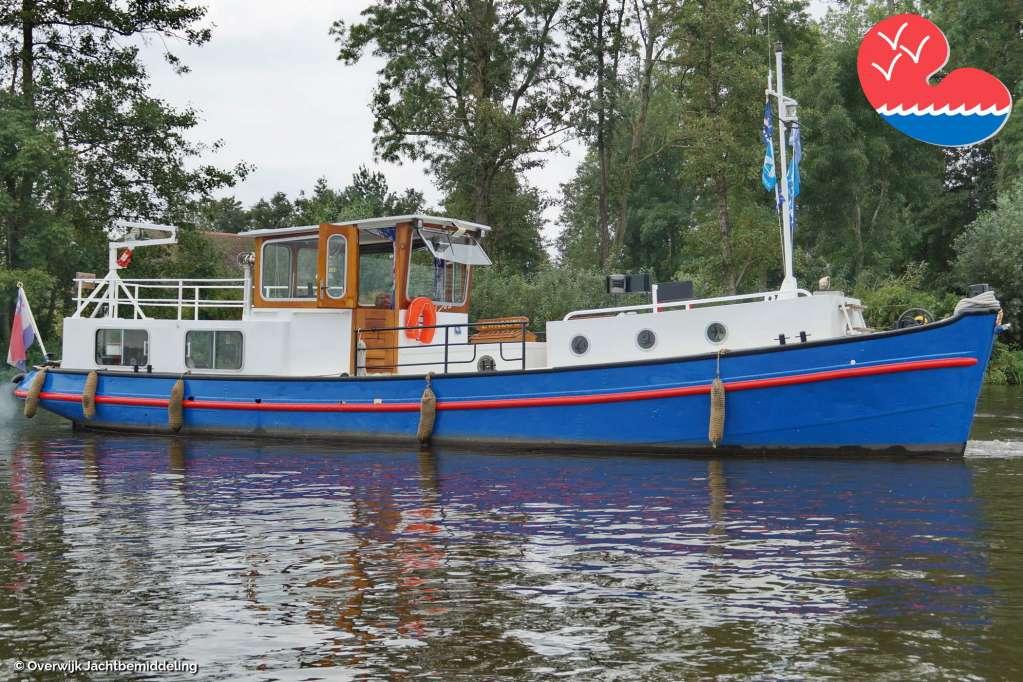 Klassiek/traditioneel motorjacht,Directievaartuig 1295, in bemiddeling bijOverwijk Jachtbemiddeling