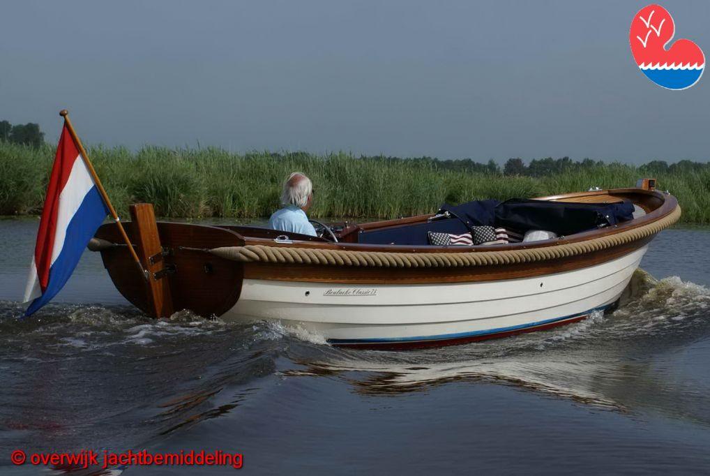 Sloep, Beulaeke Classic 730, in bemiddeling bij Overwijk Jachtbemiddeling
