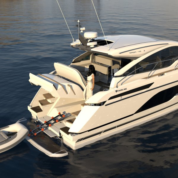"Fairline Targa 45 GT ""NEW - ON DISPLAY"" - MODEL 2021, Motoryacht for sale by JONKERS YACHTS B.V."