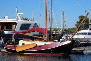 Blok Zeeschouw 950, Plat- en rondbodem, ex-beroeps zeilend Blok Zeeschouw 950 te koop bij Jachthaven Strand Horst