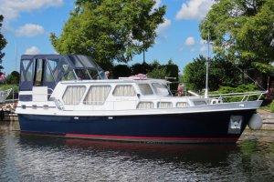 Super Lauwersmeerkruiser 11.20, Motorjacht Super Lauwersmeerkruiser 11.20 te koop bij Jachthaven Strand Horst