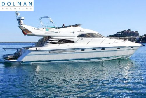Fairline Squadron 55, Motorjacht  for sale by Dolman Yachting