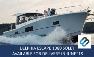 Delphia Escape 1080 S Met 205 PK Nanni, Motorjacht Delphia Escape 1080 S Met 205 PK Nanni for sale by BestBoats International Yachtbrokers