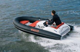 PIRELLI Speedboats J33 Carbon Black 100 HP Sport Jet (Demo Boot)