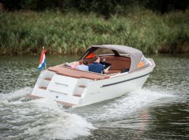 Maxima 630 met Honda 40 pk, Motoryacht Maxima 630 met Honda 40 pkin vendita daKlop Watersport